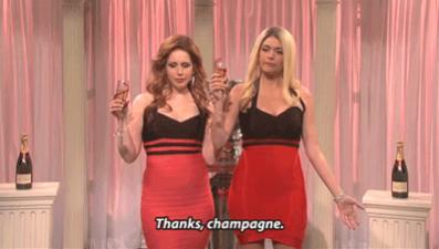 Thanks Champagne!